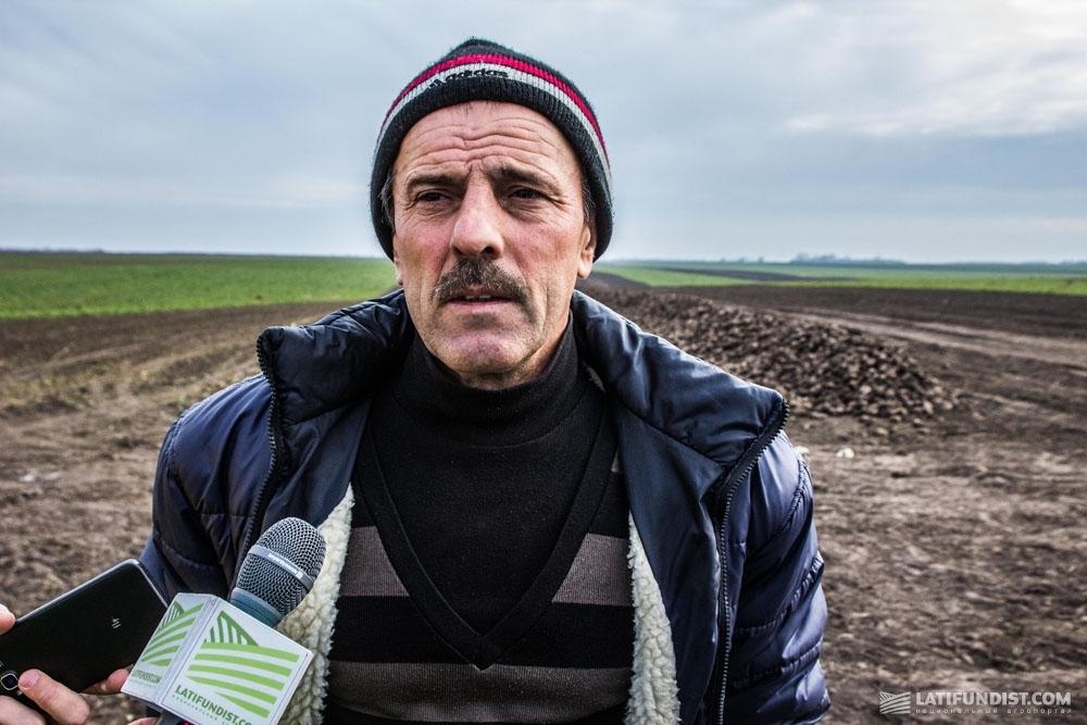 Владимир Сорокотяга, главным агроном